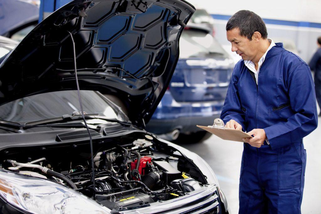 car repairing mechanic